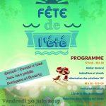 FETE DE L'ETE 2017