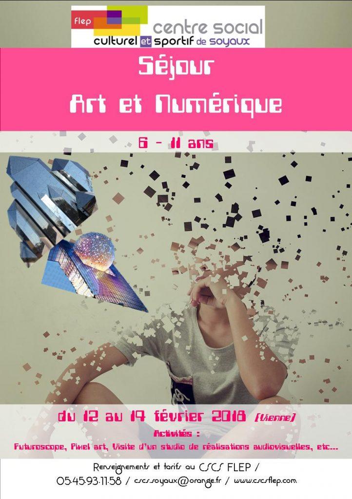 sejour art et numerique 6-11